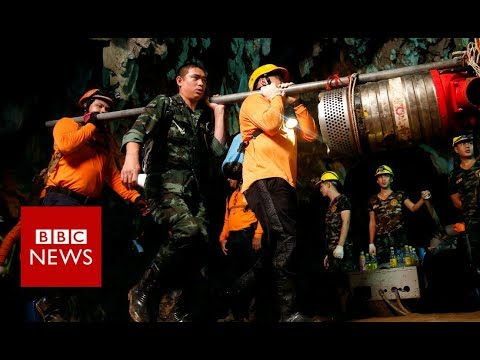 Thailand Cave How the Thai cave boys were rescued BBC News