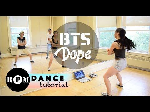 Bts Dope Dance Tutorial Choruses