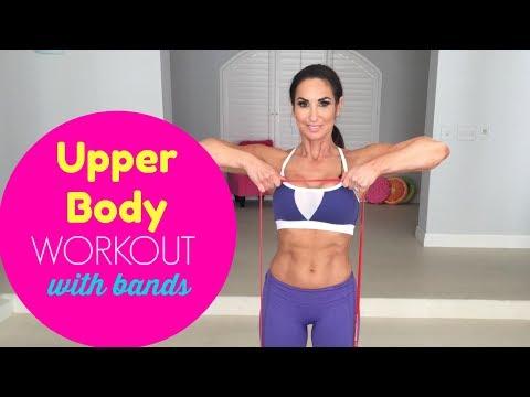 Upper Body Resistance Workout   Natalie Jill