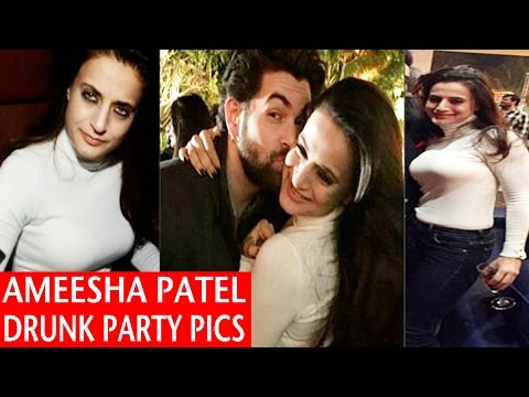 OMG ! Amisha Patel In Drunk Avtar l H0TParty Photos