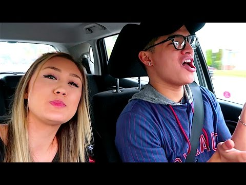COUPLE SINGING MOANA IN THE CAR!