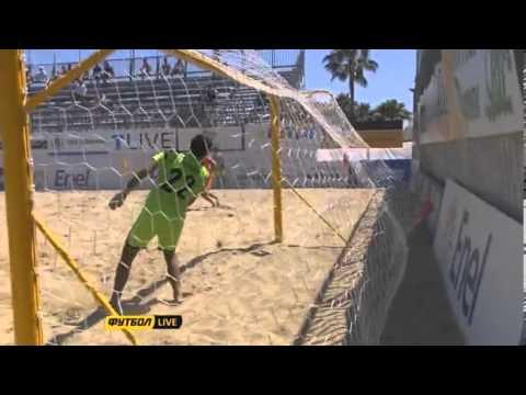 Украина - Нидерланды 8:1. Пляжный футбол. Евролига 2013. Этап 2 (голы).