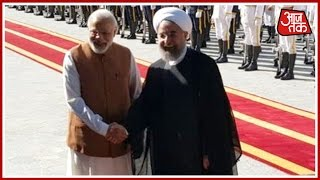 Narendra Modi In Iran: Receives Ceremonial Welcome In Tehran
