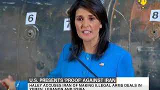 United States presents proof against Iran