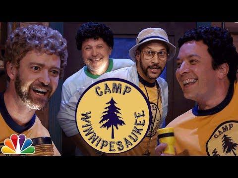 Camp Winnipesaukee with Justin Timberlake Keegan Michael Key and Billy Crystal