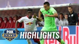 RB Leipzig vs. Hannover 96 | 2018-19 Bundesliga Highlights