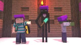 ''The Game of Spleef'' Minecraft Animation (Slamacow)