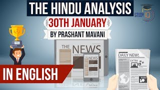 English 30 January 2018- The Hindu Editorial News Paper Analysis- [UPSC/SSC/IBPS] Current affairs