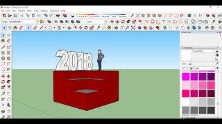 تحميل برنامج سكتش اب 2018 نسخة كاملة للتصميم ثلاثي الابعاد
