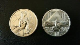 Cleopatra 2oz Silver Rounds! Elemetal Mint!