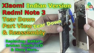 [Hindi-Audio]-Xiaomi Redmi Note 3 Tear Down, Parts View & Assembly