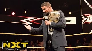 Hideo Itami hits the ring after being insulted by NXT Champion Bobby Roode: WWE NXT, May 17, 2017
