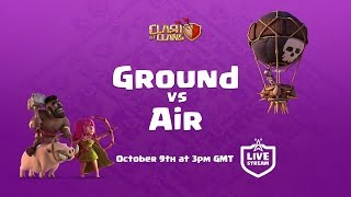 LIVE - Ground vs Air