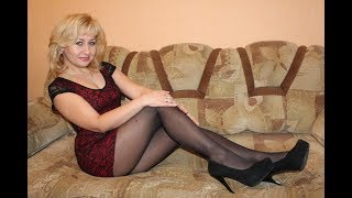 Hot Mature MILF Cougars Older Ladies in Pantyhose, Nylons, Tights & Mini Skirts