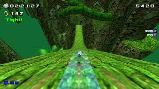Sonic World (PC): Green Forest - Normal Run - S-Rank (Sonic)