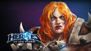 ♥ Heroes of the Storm (A-Z Gameplay) Sonya (HoTs Quick Match)