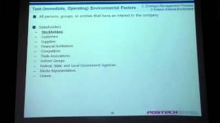 Strategic Management Part 1 - POSTECH MIS Lecture Series (3)