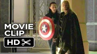 Thor: The Dark World Bonus CLIP - Loki Plays Captain America (2013) - Marvel Movie HD