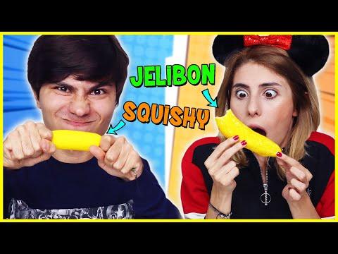 Dev Jelibon vs Squishy Kutudan Ne Çıkacak Challenge Dila Kent