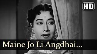 Maine Jo Li Angdaii - Pradeep Kumar - Sumrita Devi - Jaagte Raho - Bollywood Songs - Salil Choudhary