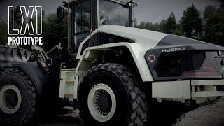 Hybrid hjullastare Volvo LX1 - prototyp för elektromobilitet