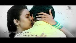 Telugu emotional Dialogue Whatsapp Status    Oka Manasu   