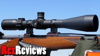 Sightron S-TAC 4-20x50 w MOA reticle ~ Rex Reviews