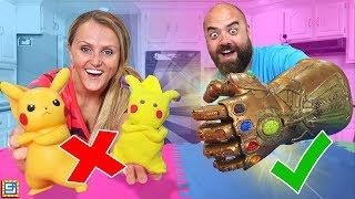 BEST ART CHALLENGE - How To Make Pokemon Detective Pikachu Avengers Wins $10,000!!