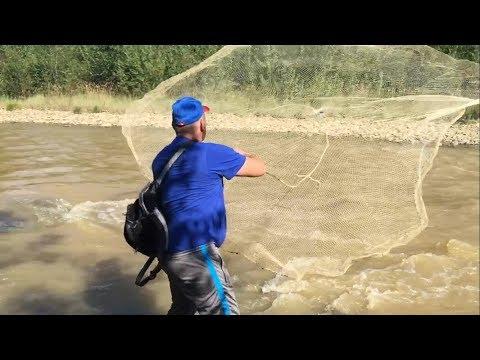 как ловят рыбу накидкой