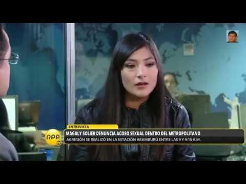 ¡¡ MAGALY SOLIER DENUNCIA ACOSO SEXUAL EN EL METROPOLITANO !!