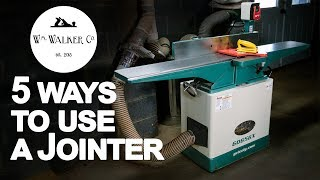 How to Use a Jointer 5 Ways   What is a Jointer   Woodworking
