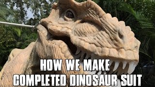 How We Make Completed Dinosaur Costume