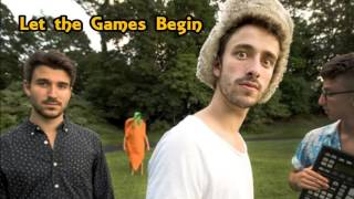 let the games begin  ajr lyric video