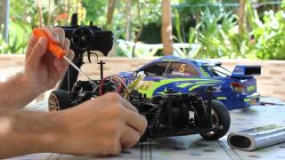 How to convert a 4WD to a 2WD RC car very easy !