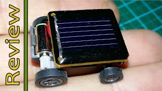 The Worlds Smallest Solar Powered Car From Banggood.com