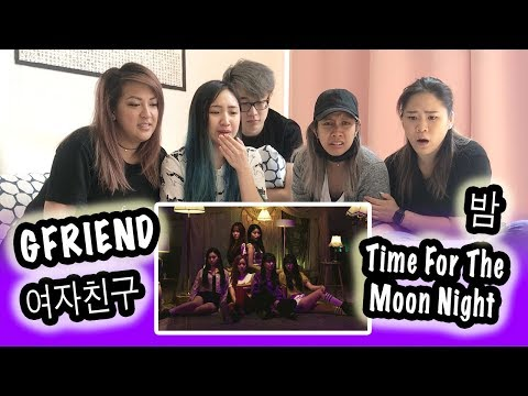 [KPOP REACTION] GFRIEND 여자친구 -- TIME FOR THE MOON NIGHT 밤