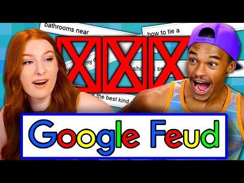GOOGLE FEUD Teens React Gaming