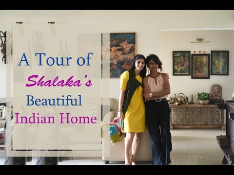 An Indian Home Tour : Inside Shalaka's Beautiful Indian Home