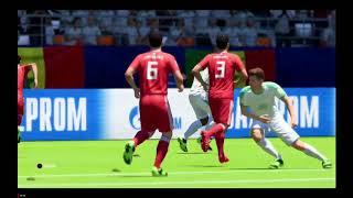 FIFA 18 World Cup - My FUT18 vs IRAN - Match Highlights (24062018)