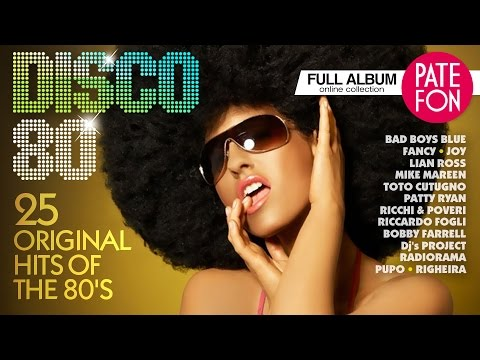 DISCO 80 Various artists 25 ORIGINAL HITS OF THE 80 S