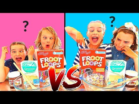 TWIN TELEPATHY CAKE CHALLENGE hilarious SIS Vs BRO style with The Norris Nuts