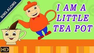 I Am Little Teapot (HD) SING ALONG Nursery Rhyme | Popular Kids Songs | Shemaroo Kids