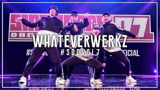 WhateverWerkz (3rd Place) | Singapore Dance Delight Vol.7 Finals 2017 | #SDDVol7