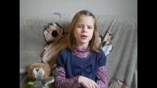Stekelvarkentjes Wiegelied by Marjolein (8yo)