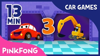 Vroom Vroom Cars Special | Best Car Games for Kids | + Compilation | Pinkfong Songs for Children