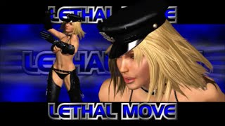 Rumble Roses XX - Sgt. Clemets Lethal Move (Speed Buster)