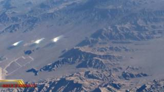 Fireball Shoots Out Of The Sun & Live Aerial Footage Of Nevada Mysterious Lights