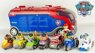 Pat Patrouille Mission Secrète Collection Complète Véhicules Paw Patrol Mission Paw Jouet Toy Review