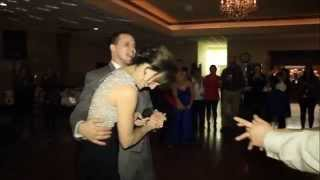 Mom surprises son for mother son dance at reception
