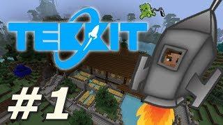 Minecraft: Tekkit - A Whole New World! (Part 1)